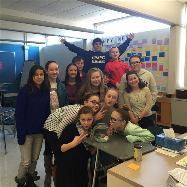 Stem School Prom: 7th Grade Guidance Class / 7th Grade Guidance Class