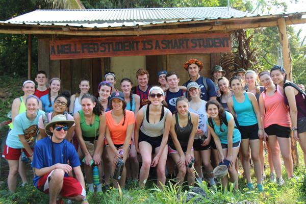 Smart Students are Everwhere! Blue Creek, Belize