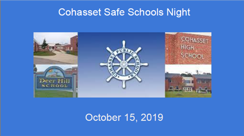 Safe Schools Night
